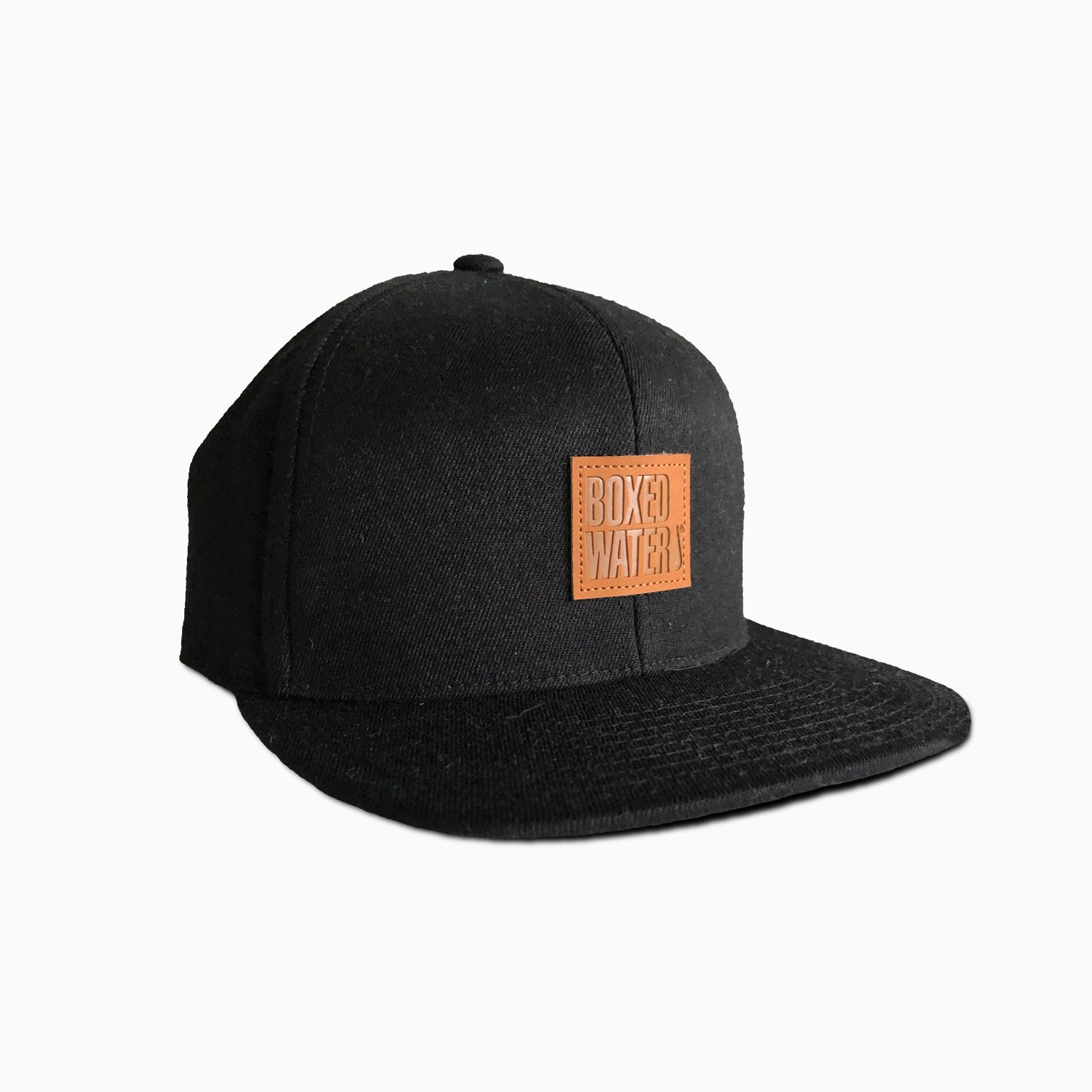 Boxed Water Leather Patch Hat