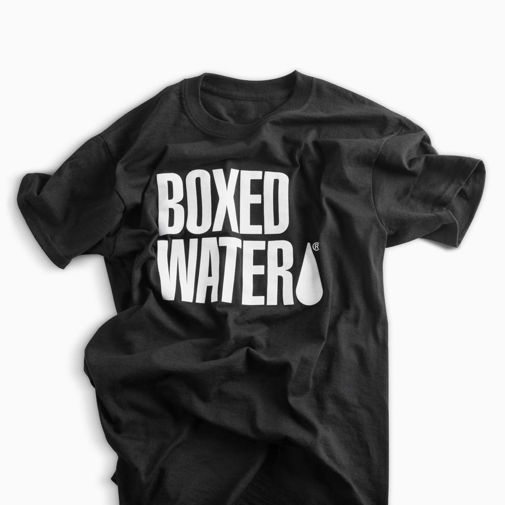 BOXED WATER T-SHIRT