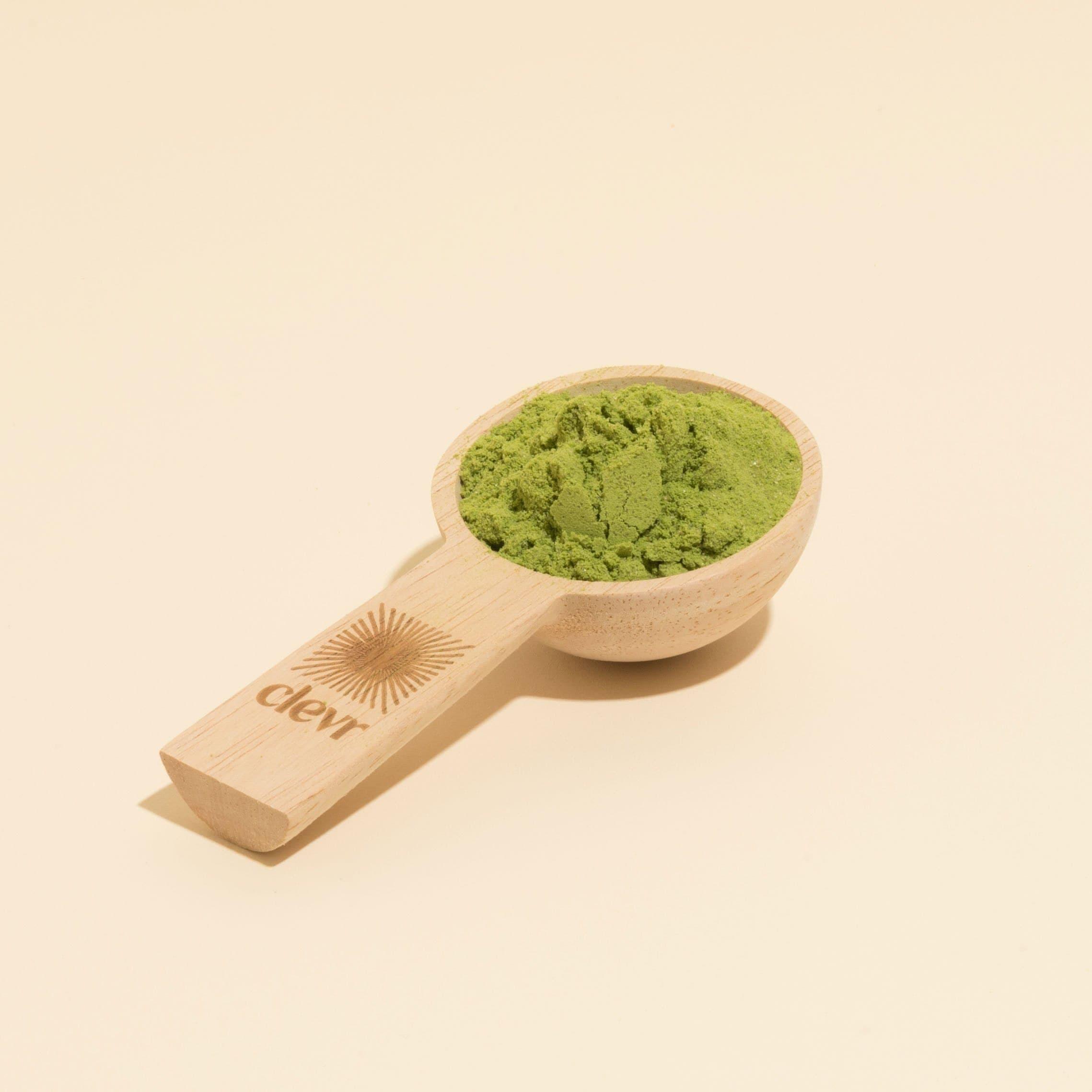 Wooden Latte Measuring Scoop
