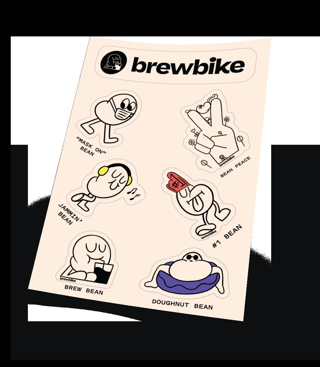 Bean Sticker Sheet