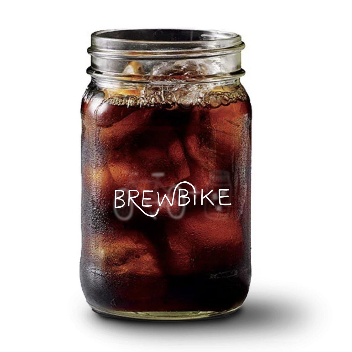 Double BrewBike Mason Jar