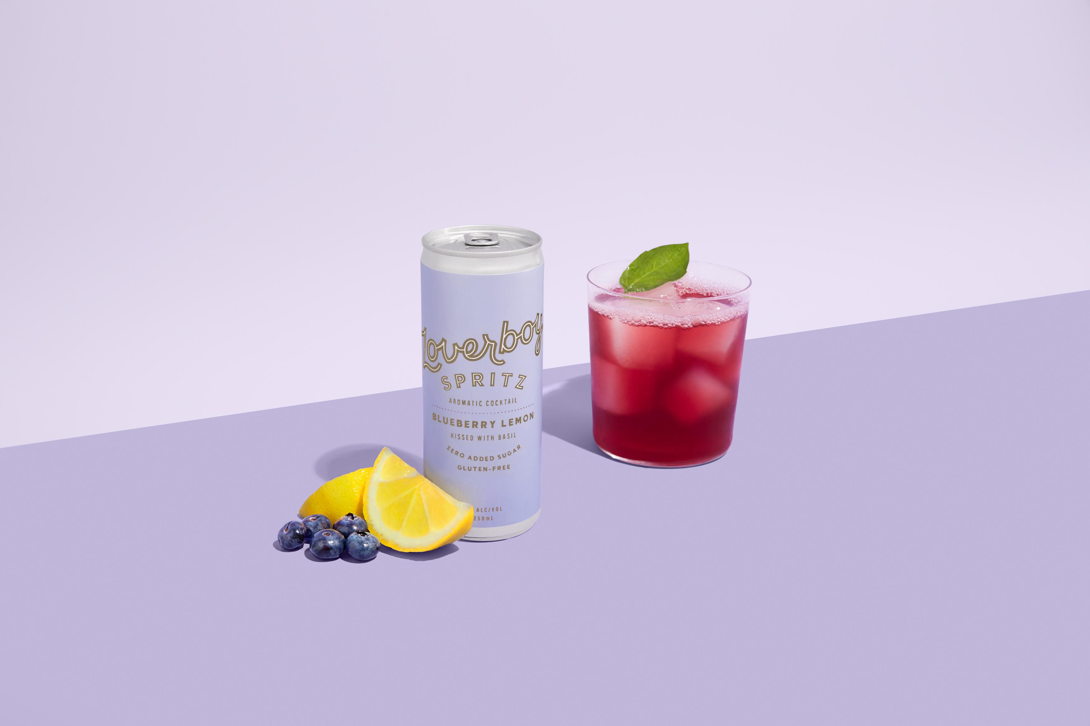 Blueberry Lemon Spritz