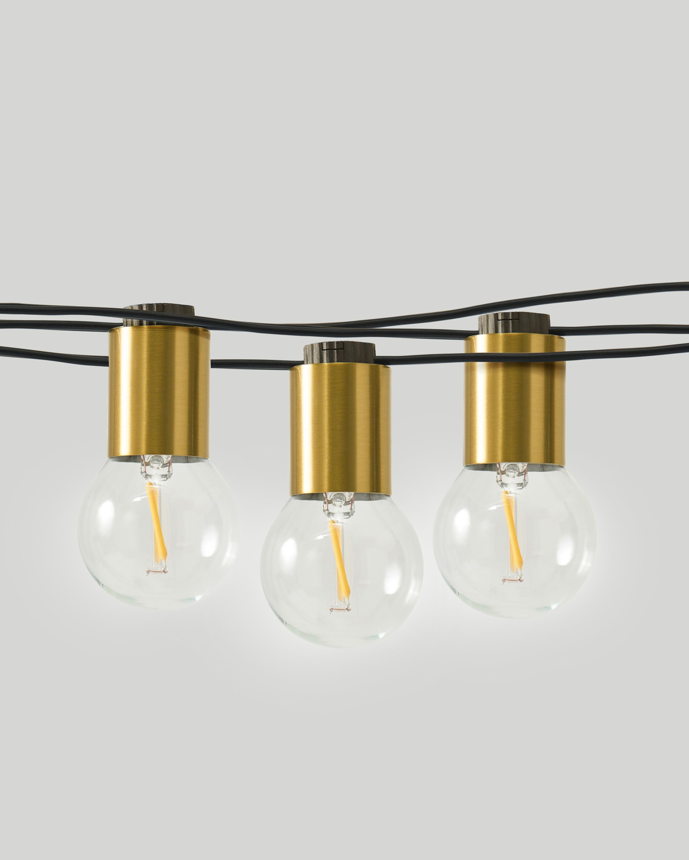 Glow Globe String Lights