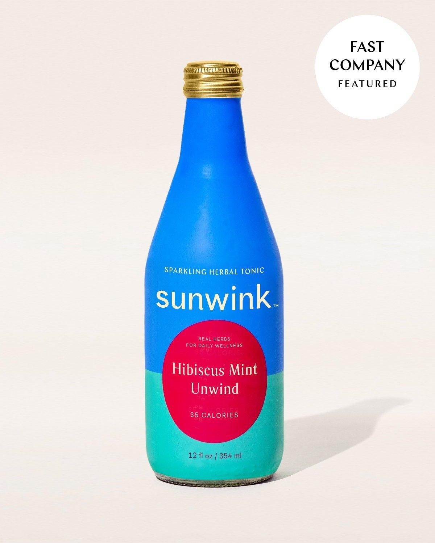 Hibiscus Mint Unwind Tonic
