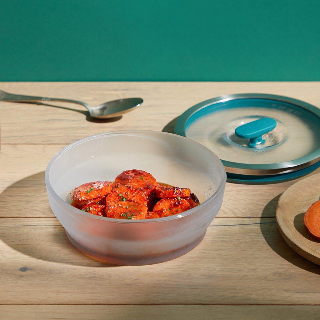 Medium Shallow Dish–Cook Quick Veg