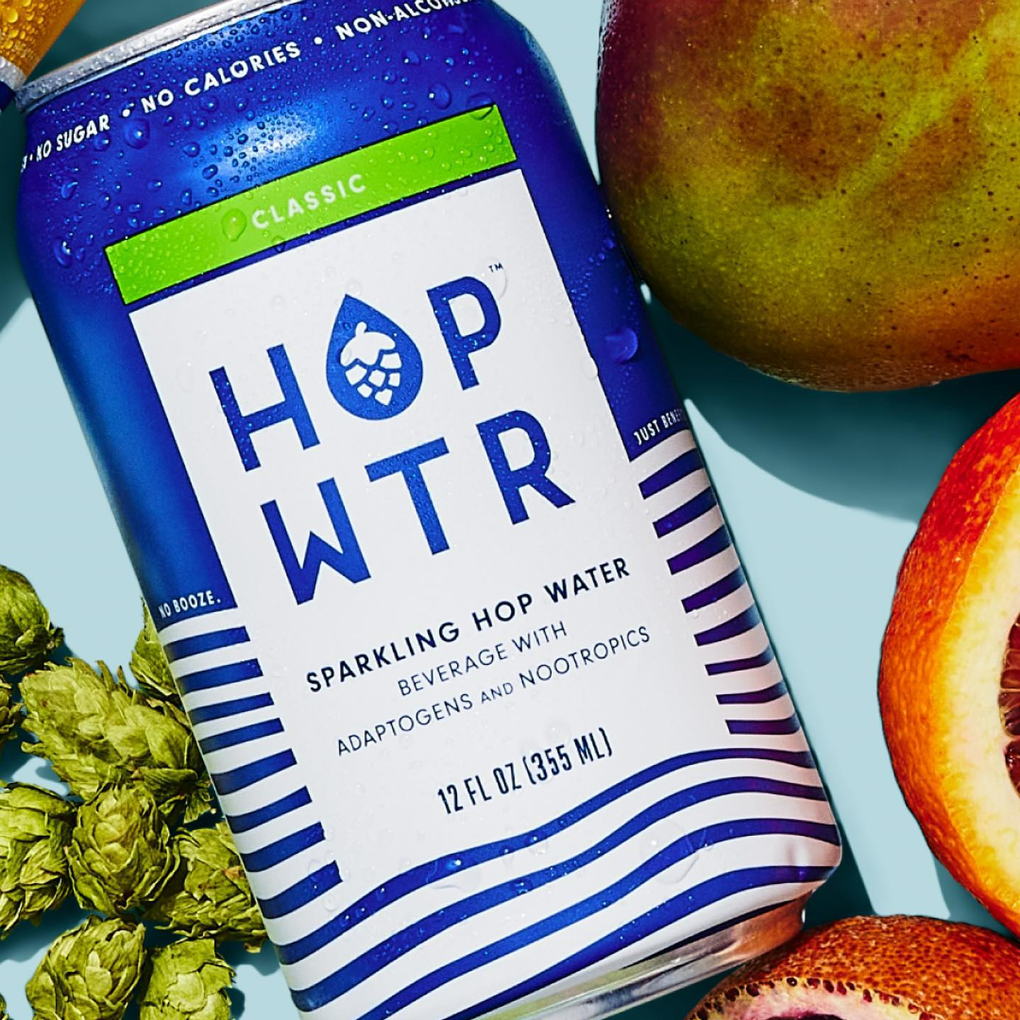 Hopped Sparkling Water | Classic Flavor