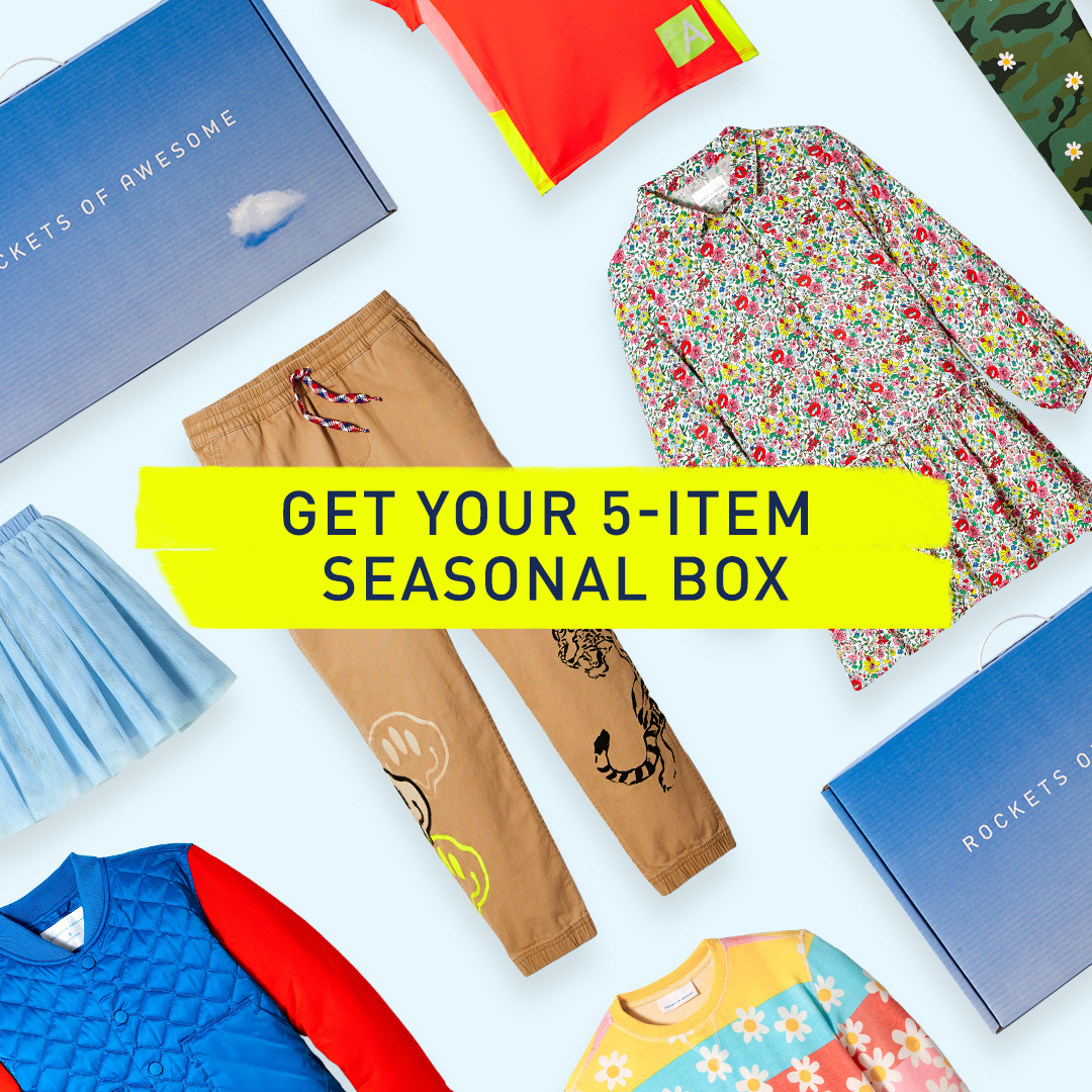 5 Item Kids Seasonal Clothing Box