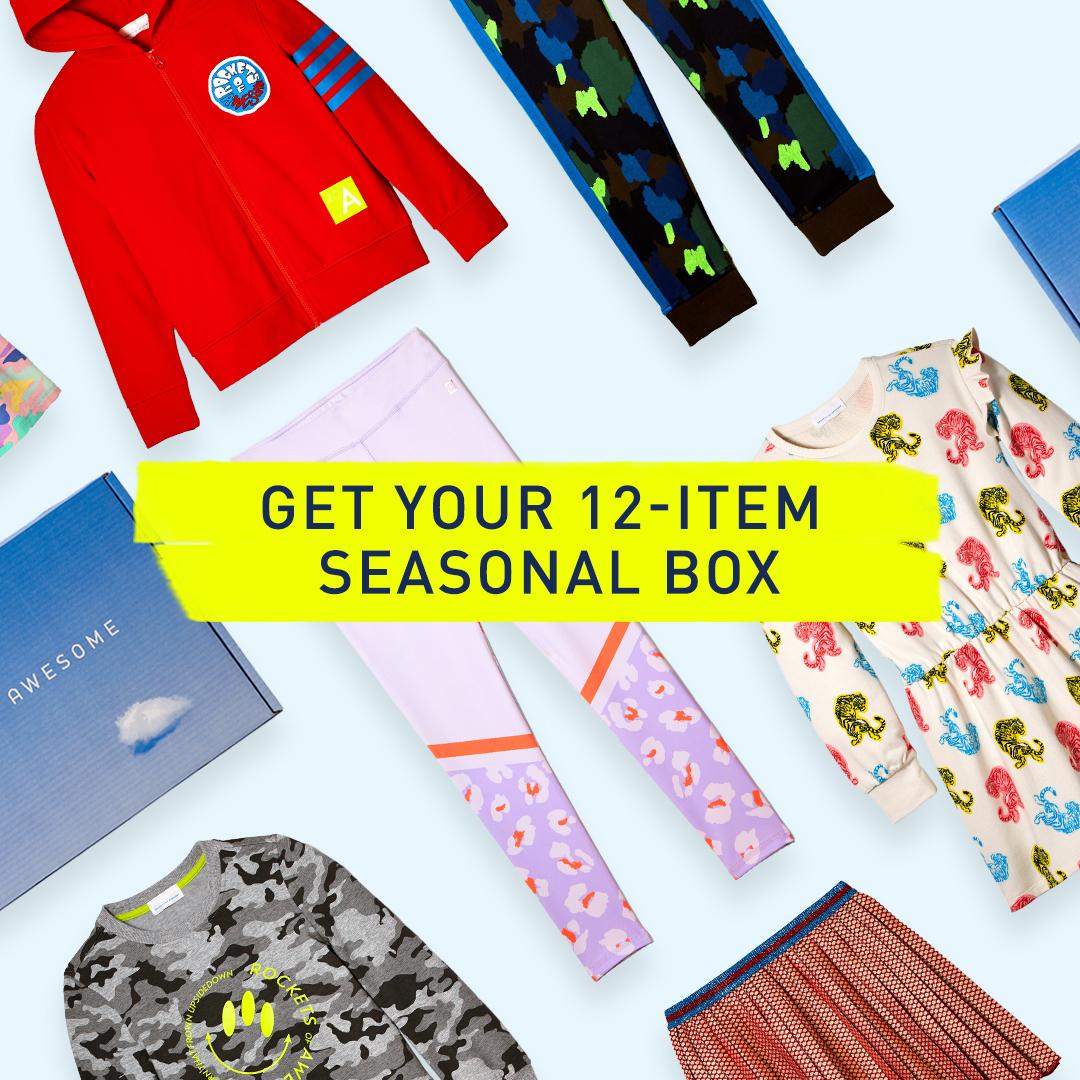 12 Item Kids Seasonal Clothing Box