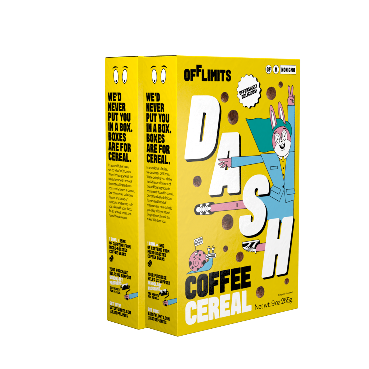 Dash, Coffee Cereal - 2 pk