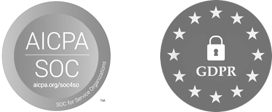 AICPA\SOC and GDPR Compliance Badges