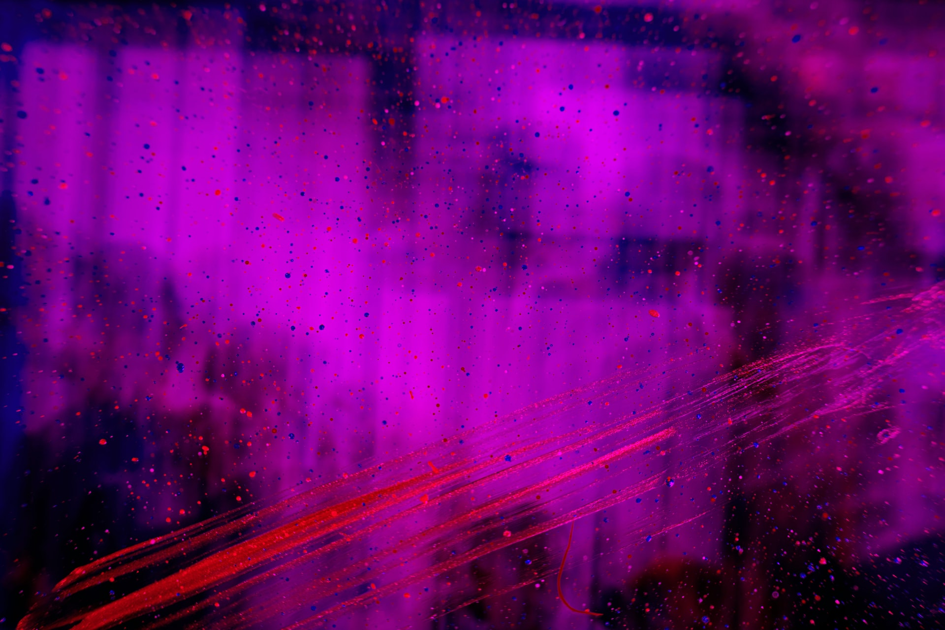 Abstract image of a purple blur.