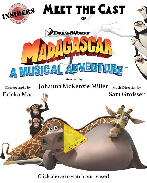Meet the Cast of MADAGASCAR - A MUSICAL ADVENTURE