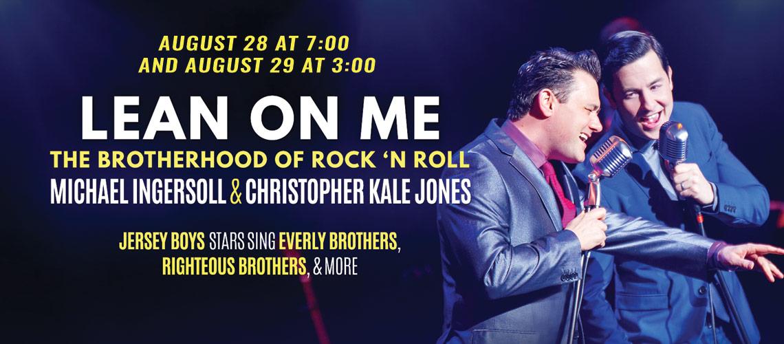 Lean on Me: The Brotherhood of Rock 'n Roll