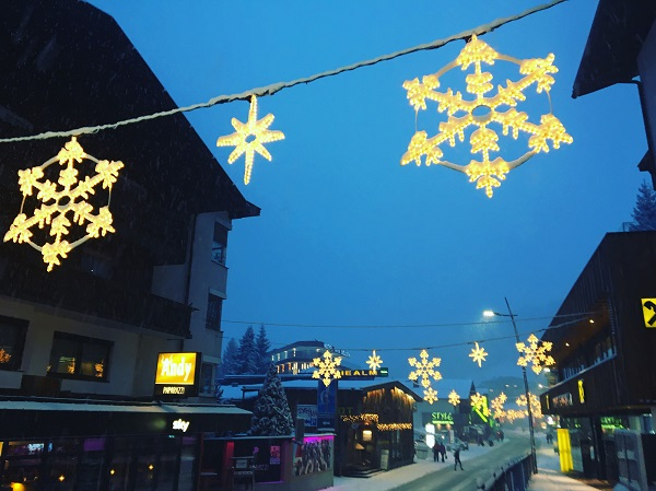 Skiing Village
