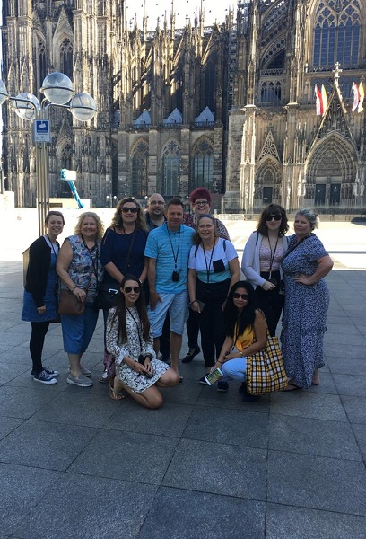Mel Hammond Cologne Cathedral