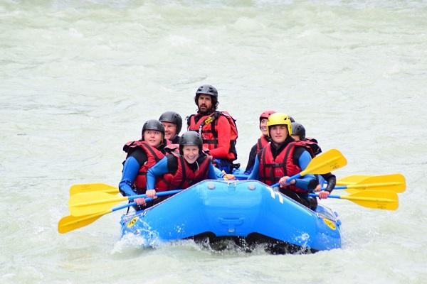 Mark White Water Rafting