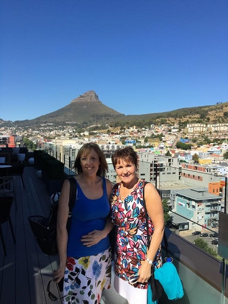 Madeleine Mayes In South Africa