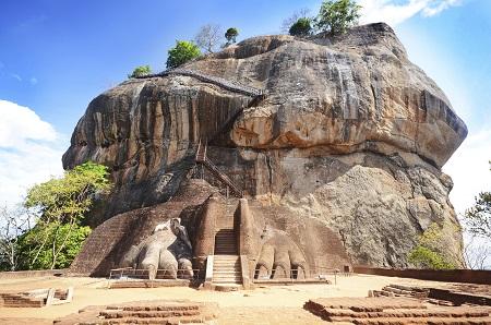 Rock Fortress Of Sigiriya