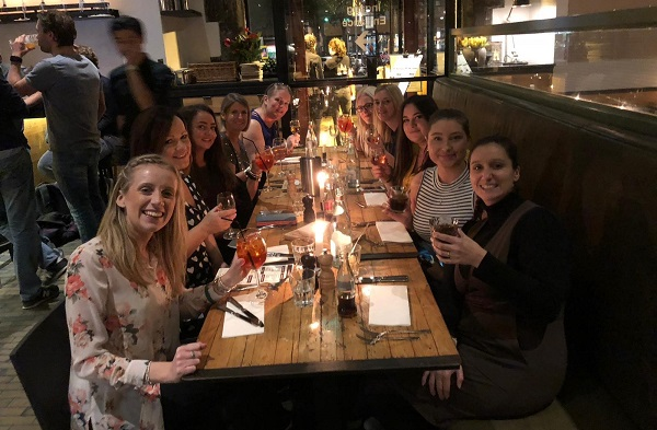 Restaurant Group Shot