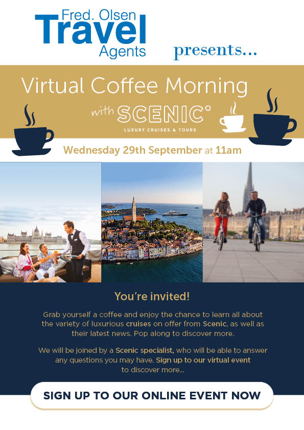 Virtual Coffee Morning with Scenic