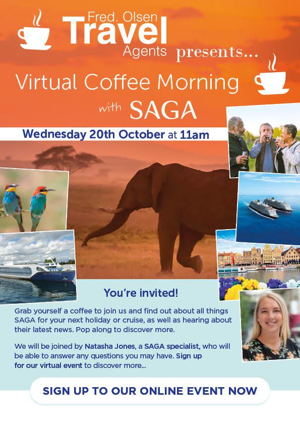 A Virtual Coffee Morning with SAGA