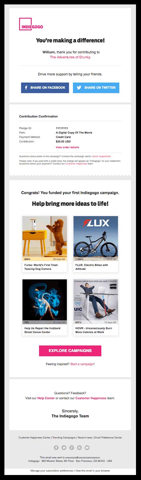 Sendlane_Order_Confirmation_Emails_Indiegogo