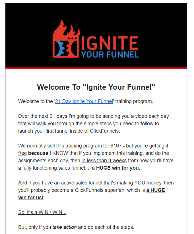automation is an absolute must-have - clickfunnels email