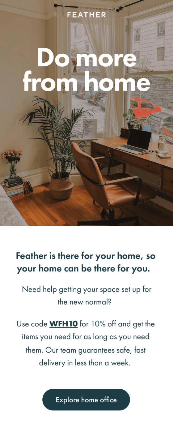 feather_covid_email_marketing_work_from_home