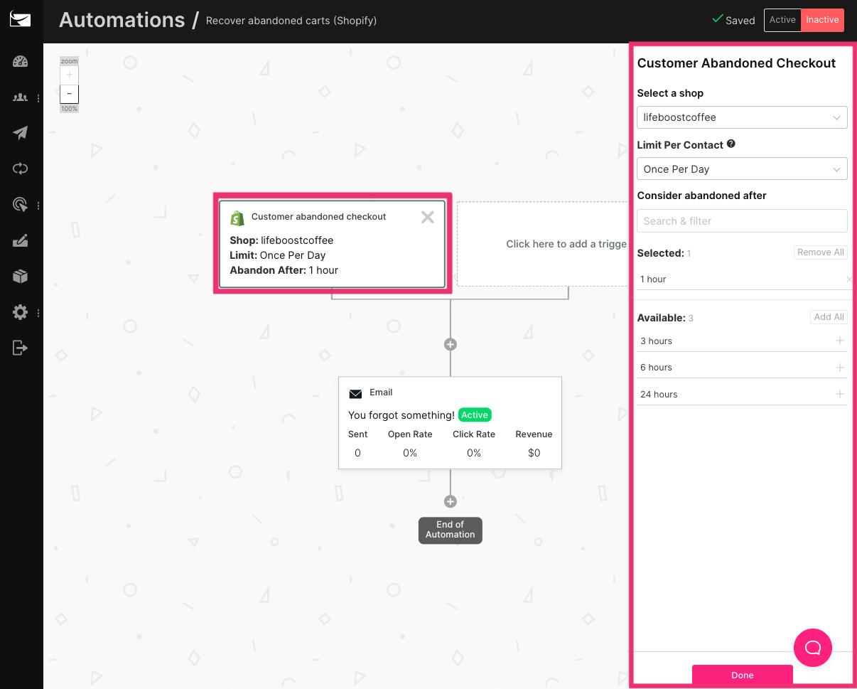 sendlane_email_automation_shopify