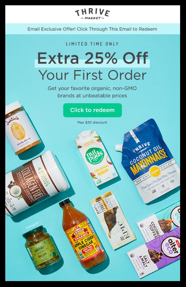 Thrive Promotional Emails - Sendlane