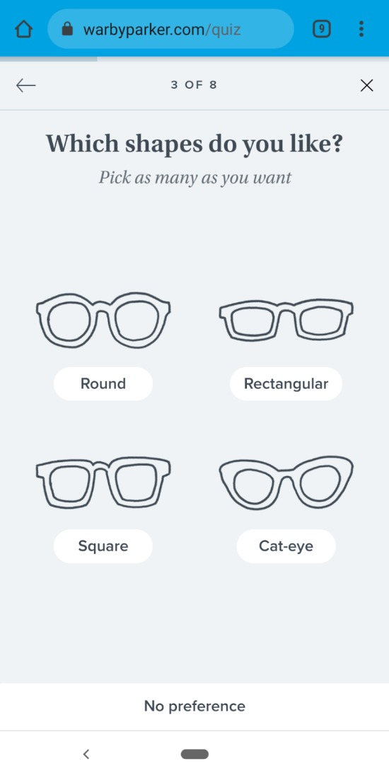 warby-parker-email-quiz