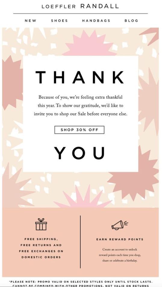 sendlane-email-segmentation-thank-you