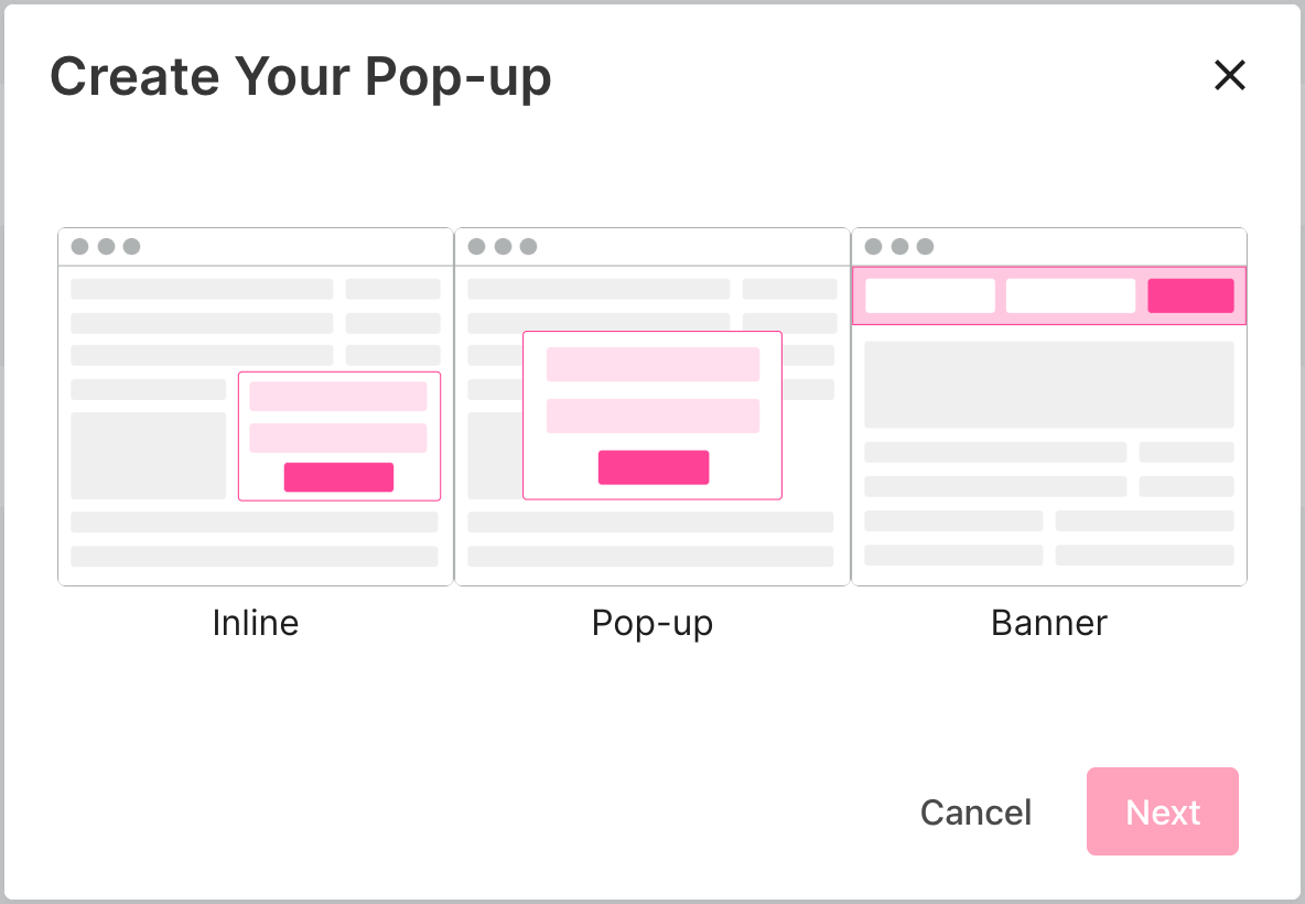create-pop-up-email-marketing