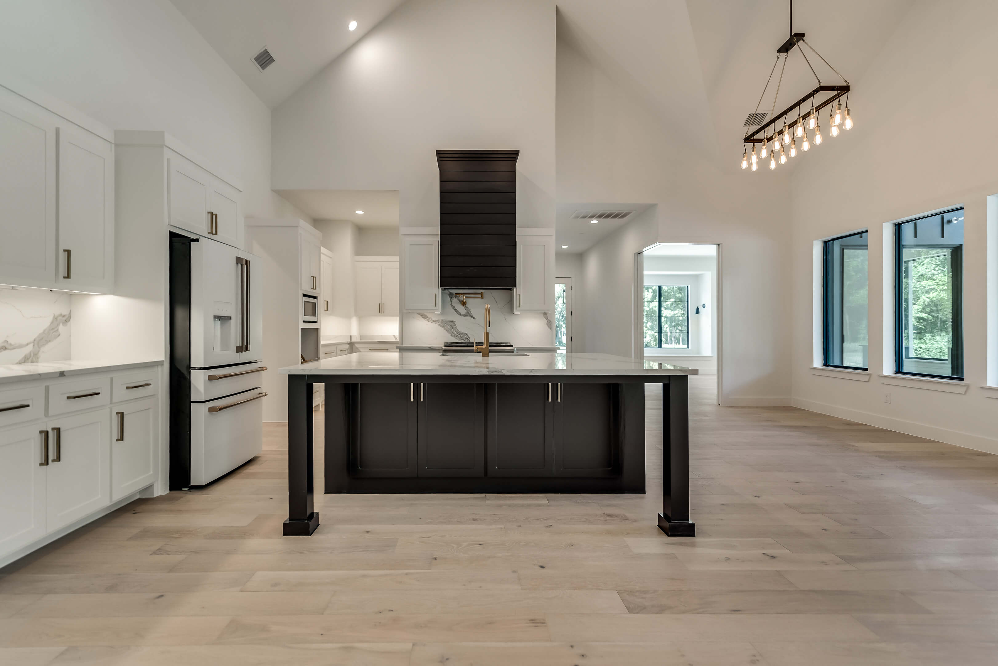 image of a kitchen in custom built home