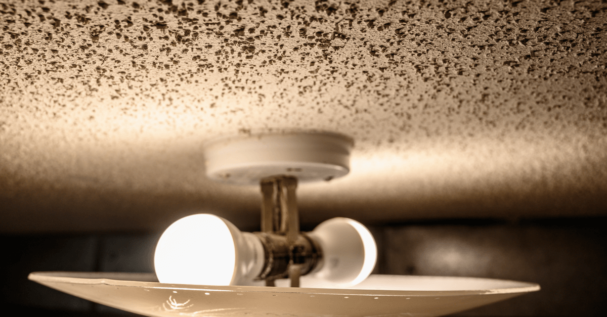 What's the Deal with Popcorn Ceilings?