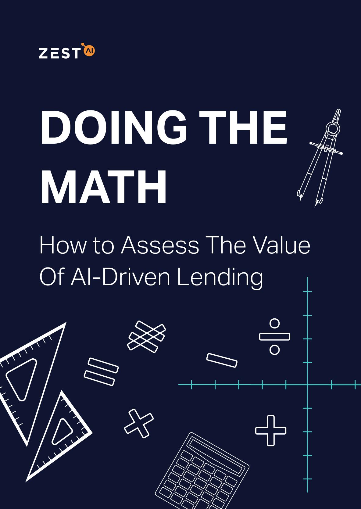 Doing the math guide to AI driven lending