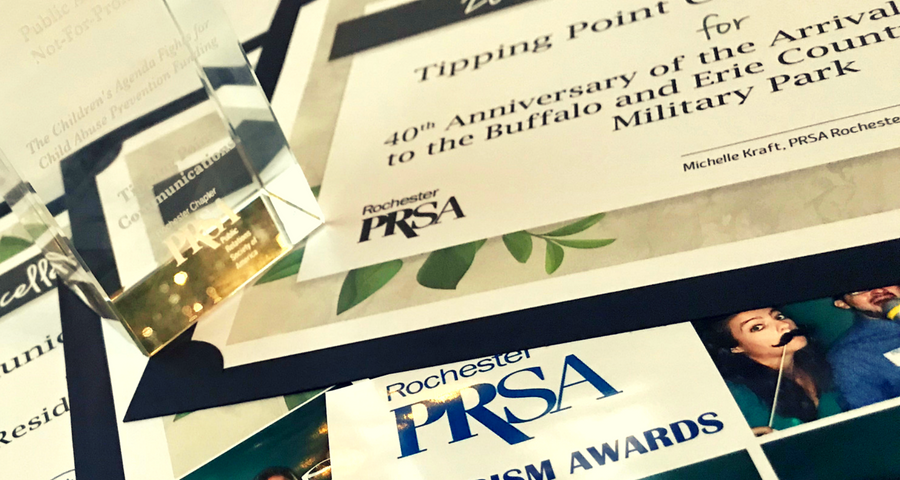int communications wins public relations PRism Awards in Rochester New Yorktipping po