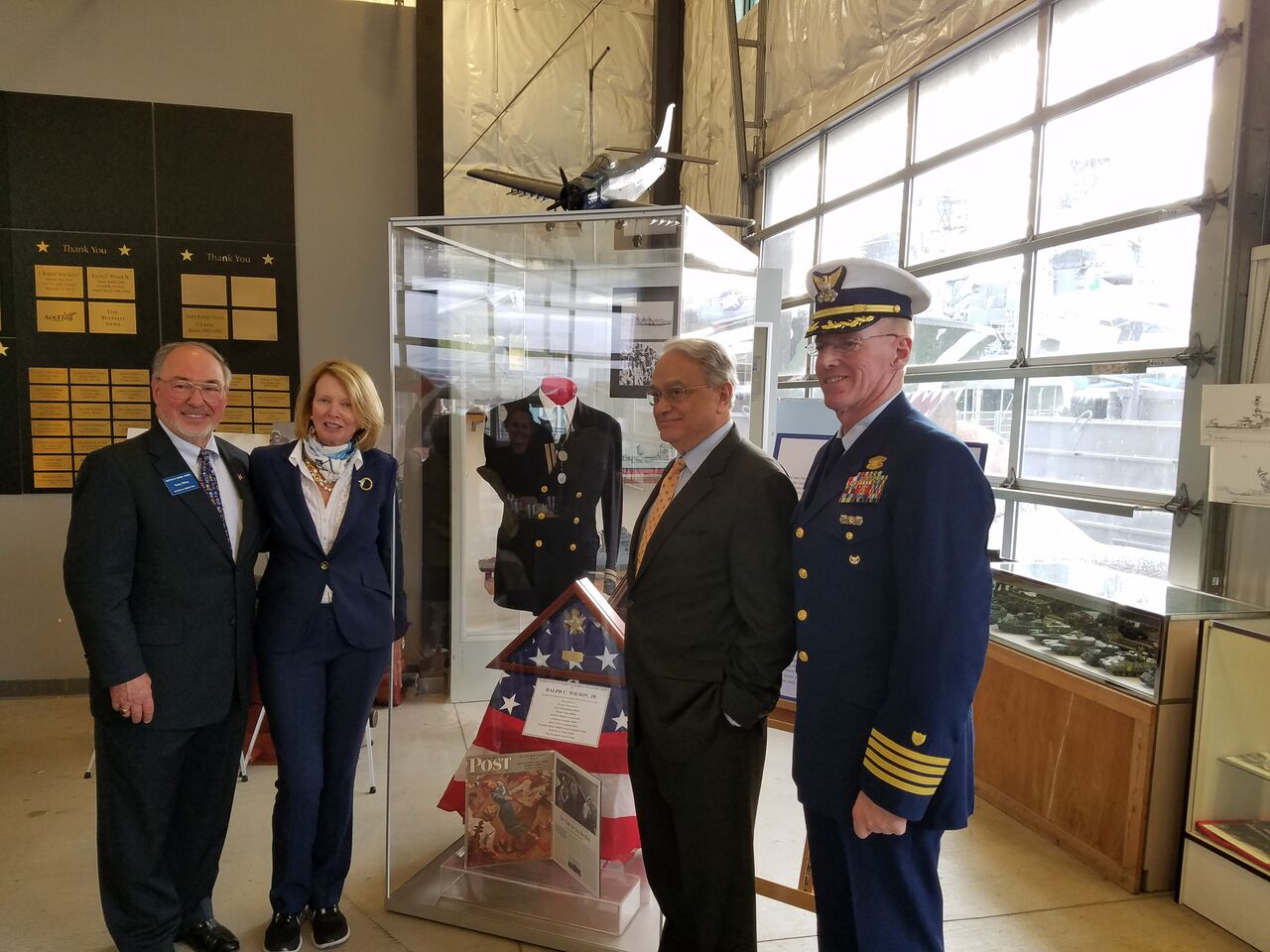 Buffalo Naval Park Honors WWII Veteran client of Tipping Point Communications
