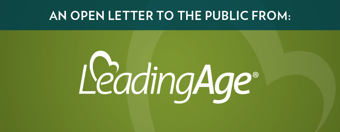 Open Letter to the Public from LeadingAge