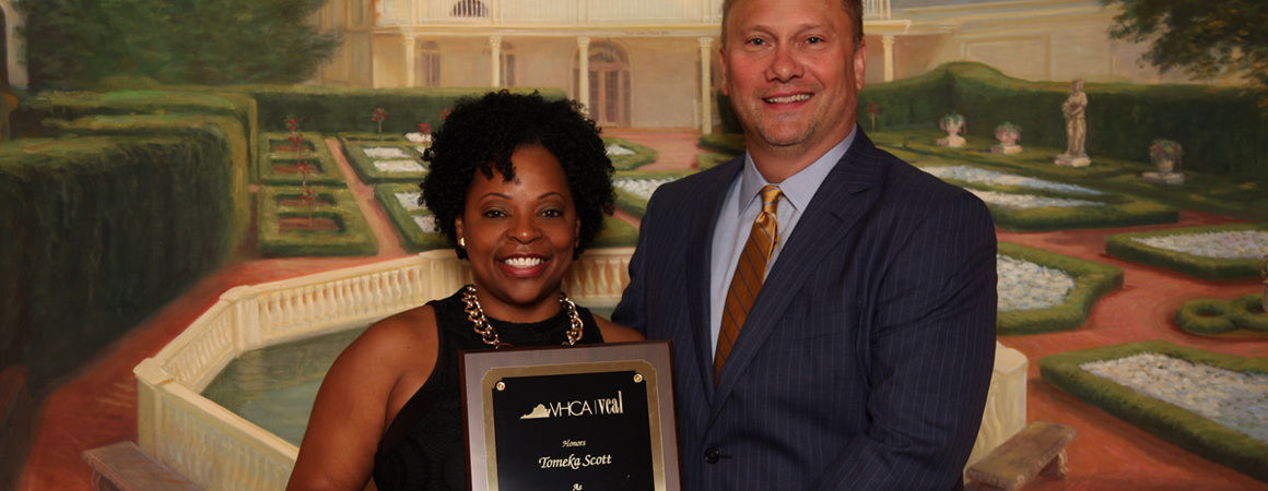 Tomeka Scott Recognized for Excellence in Long Term Care Nursing