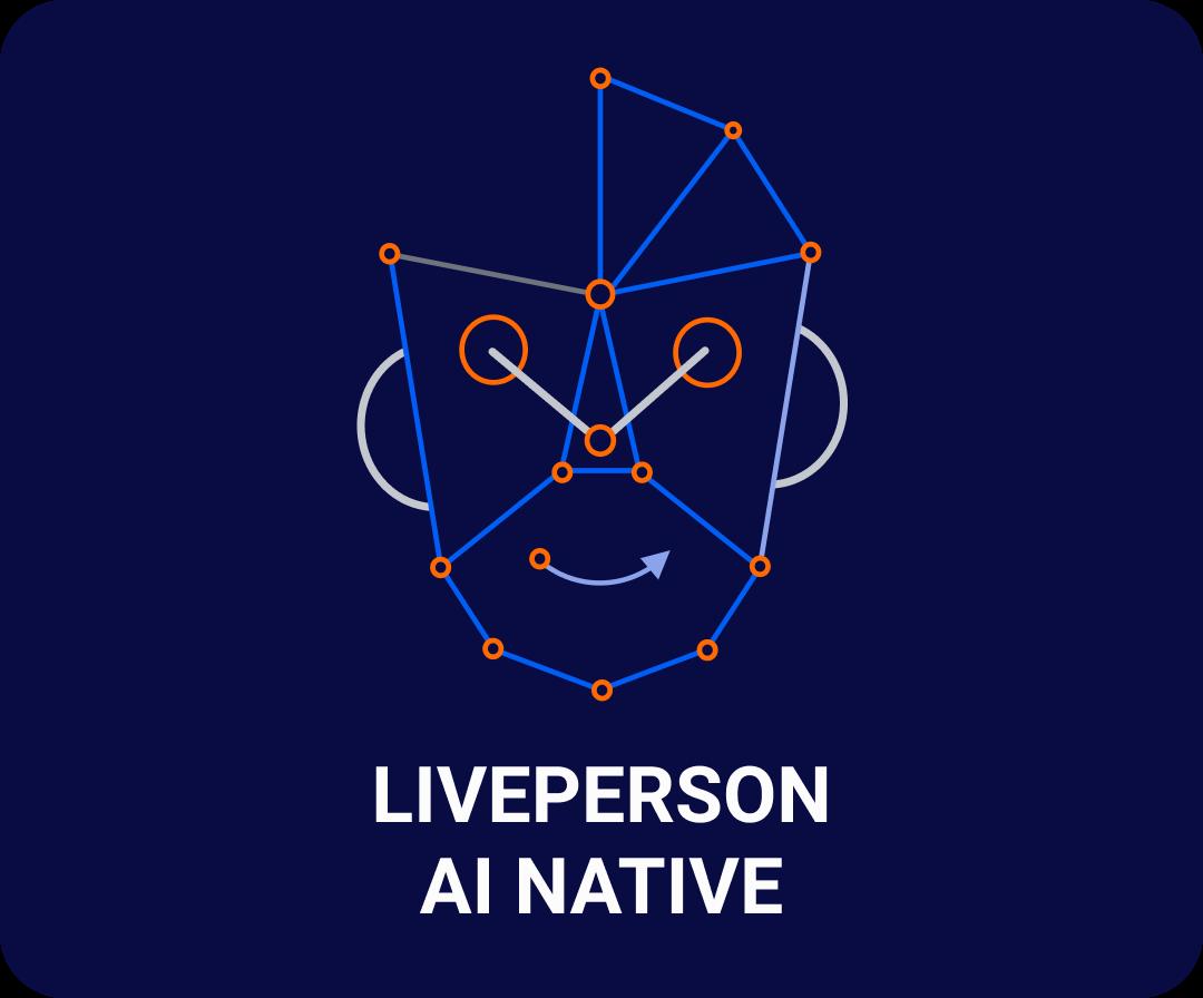 Illustrative mix of human and AI faces