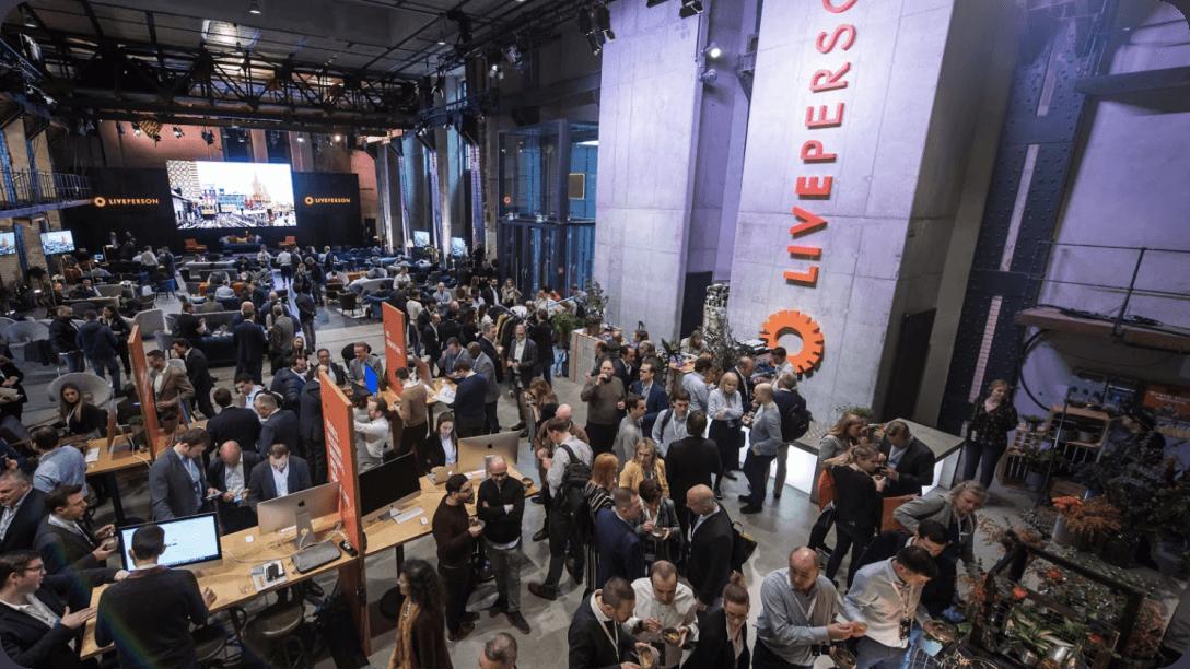 A LivePerson event showcasing Conversational AI