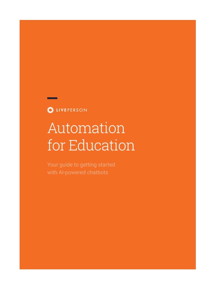 Cover image of Automation for Education report