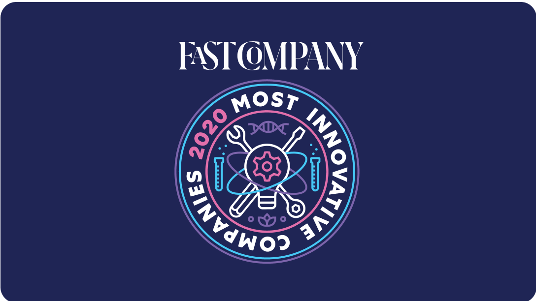 Fast Company Most Innovative Companies Badge