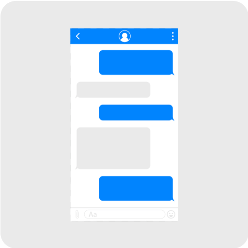 Illustration of web messaging