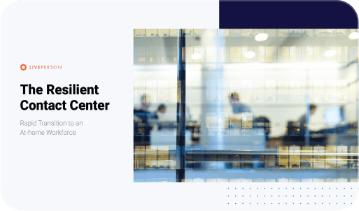 The Resilient Contact Center playbook cover
