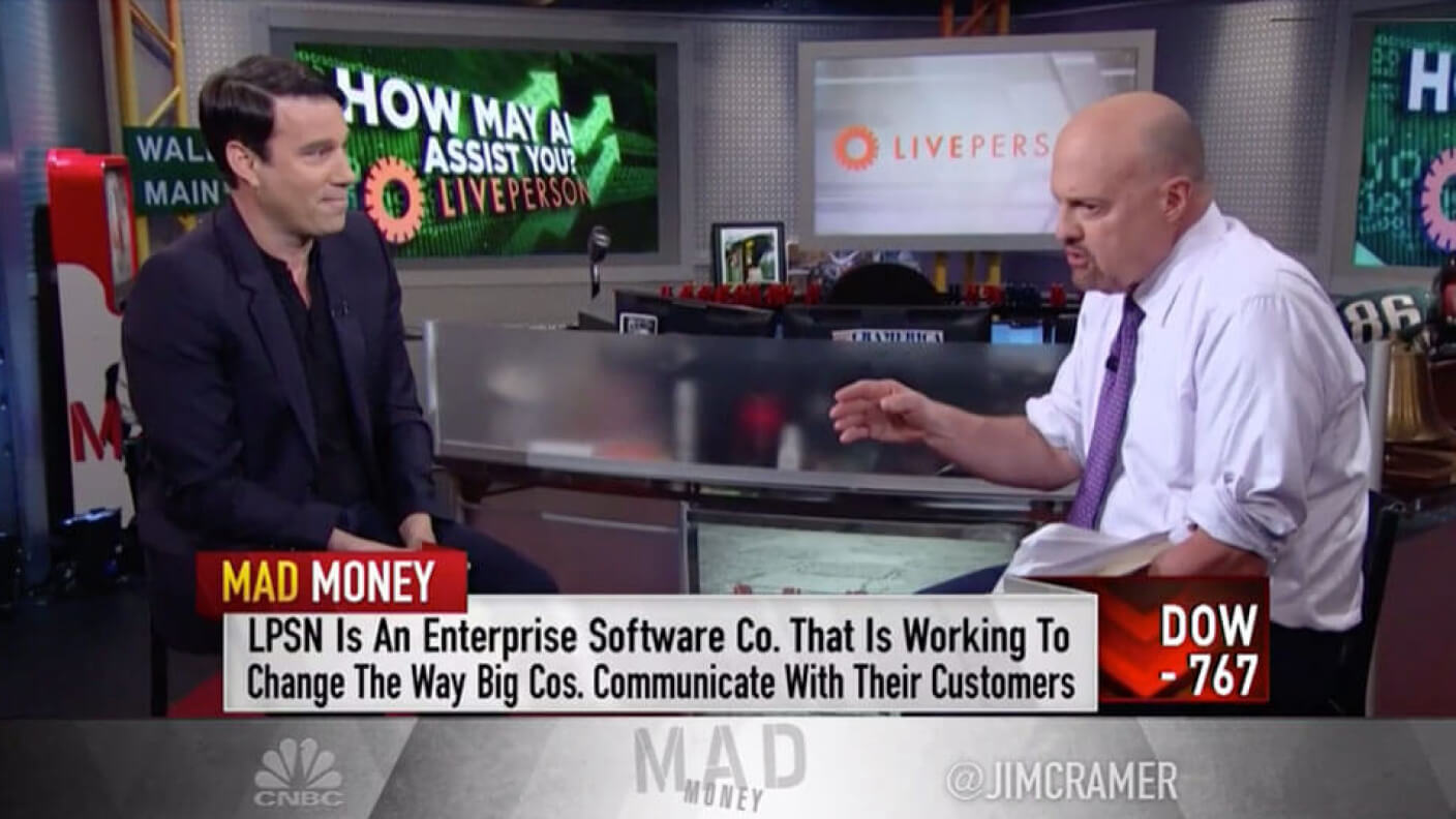 Liveperson CEO Joins Mad Money image