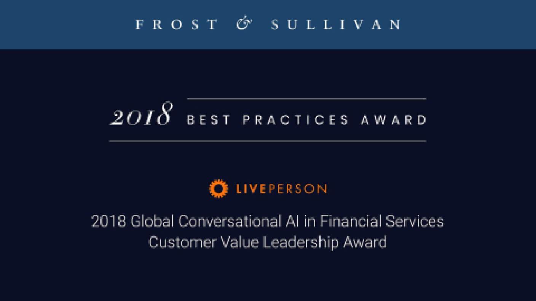 Frost Sullivan award image