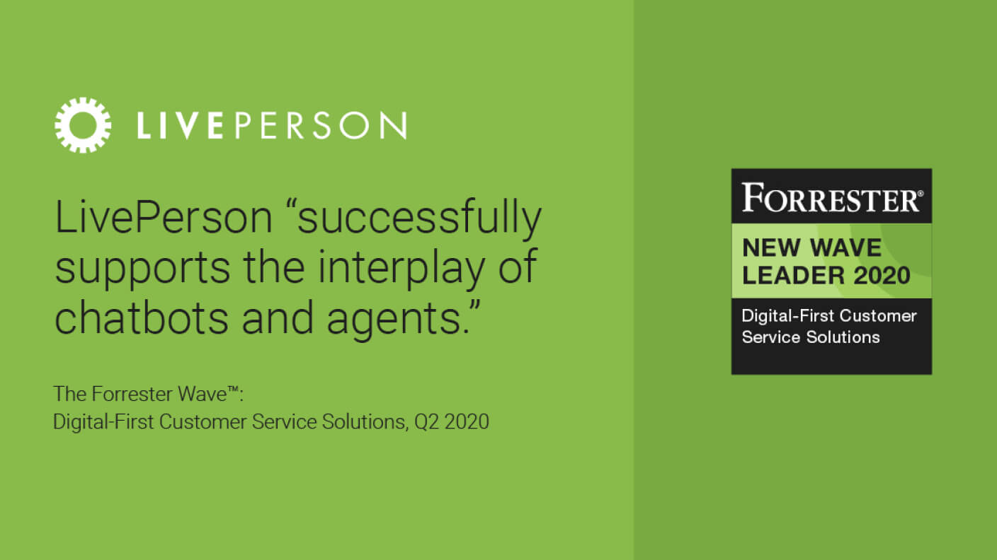 Forrester Digital First Customer Service Solutions images