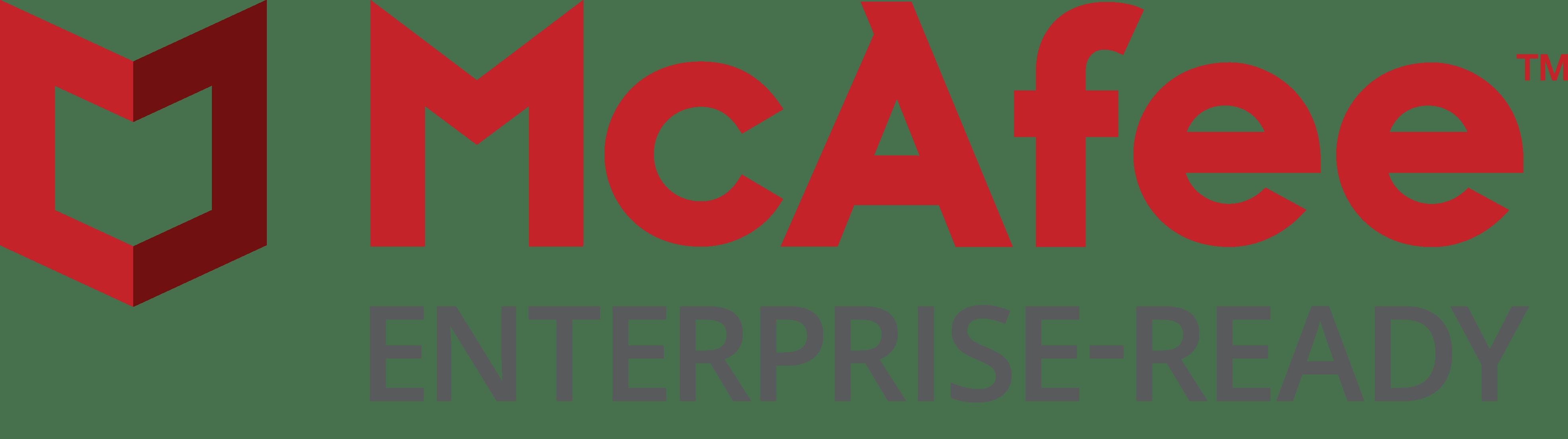 McAfee Enterprise Ready